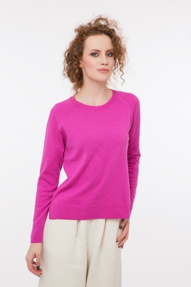 Fine pullover with 20% cashmere
