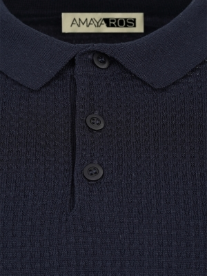 Men's pullover with collar  HUGO